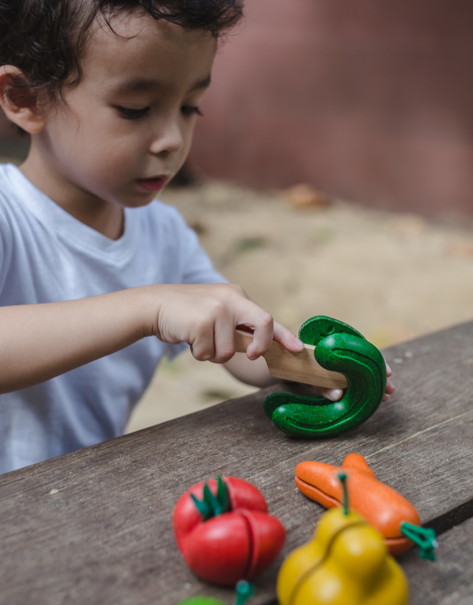 Plan Toys WONKY FRUIT EN GROENTEN