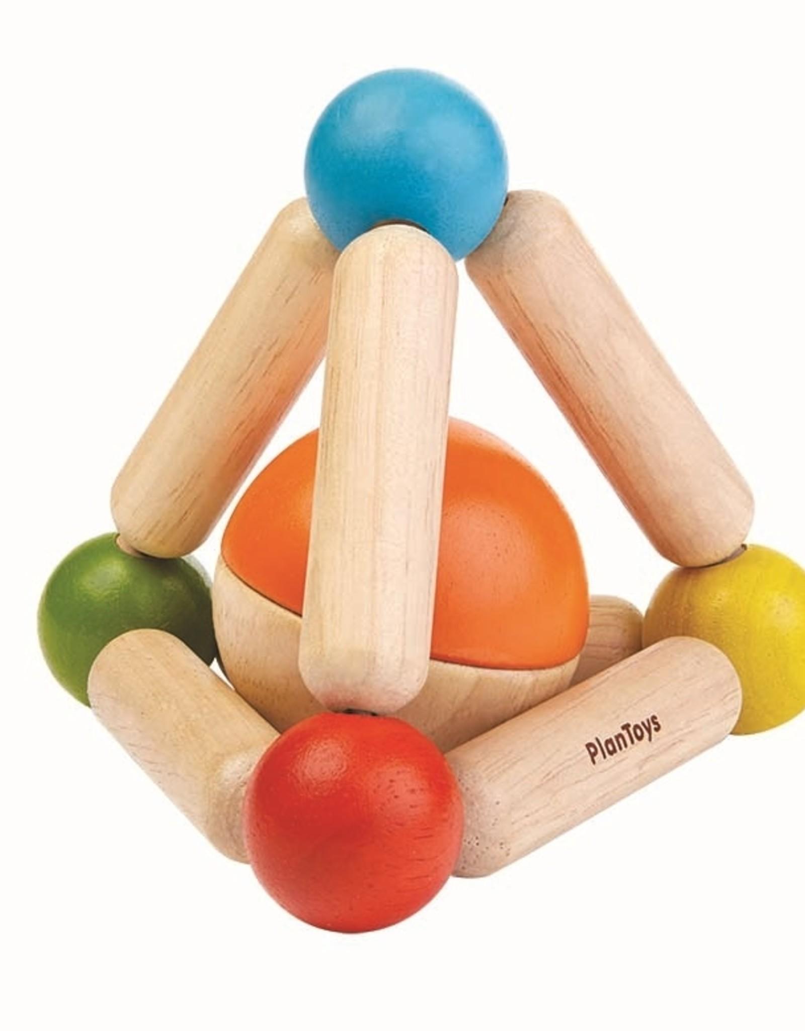 Plan Toys Plan Toys - RAMMELAAR MET BALLETJE