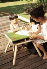 Plan Toys Plan Toys - TAFEL EN STOELTJE - GROEN