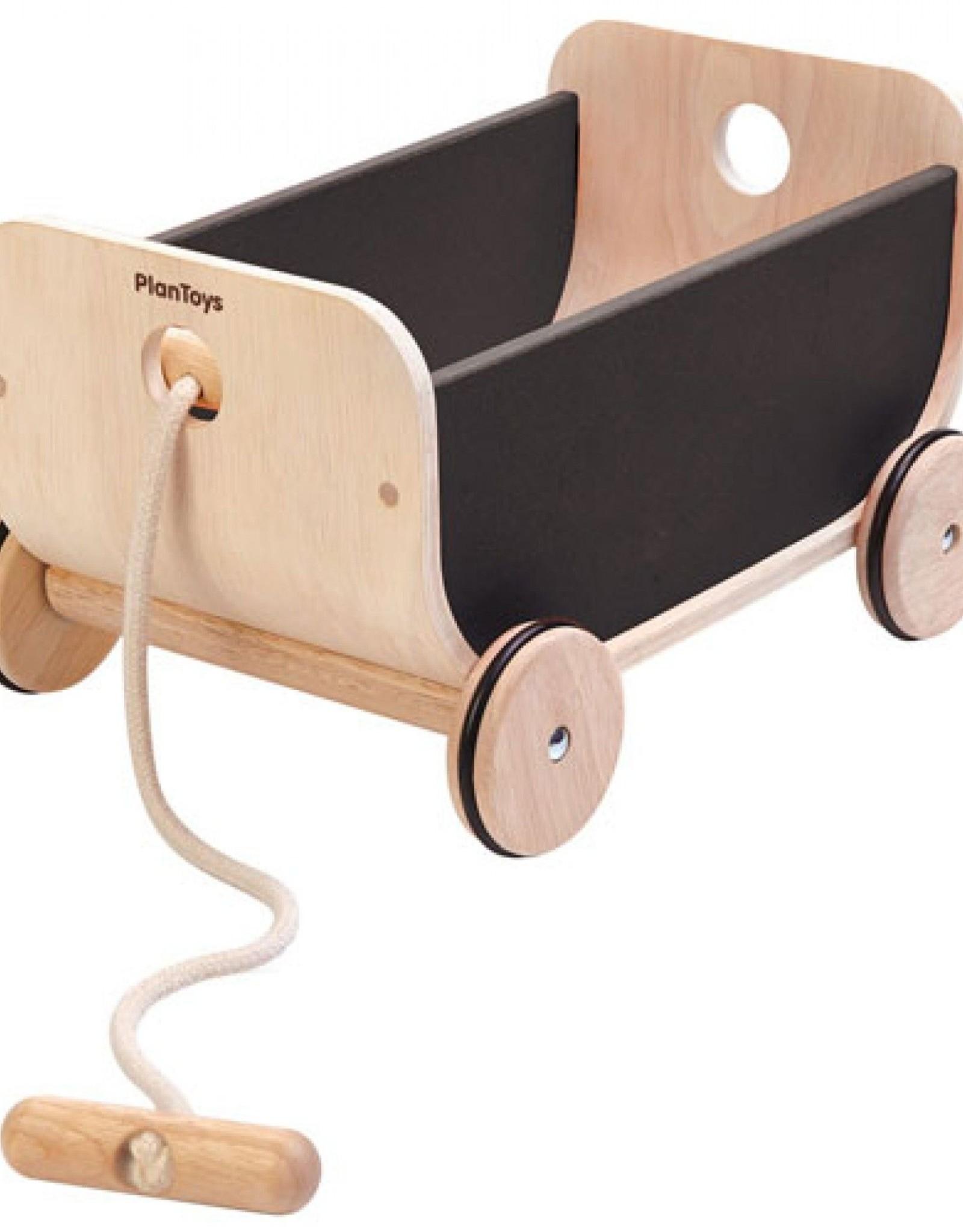 Plan Toys Plan Toys - TREKKAR - ZWART