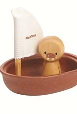 Plan Toys Plan Toys - ZEILBOOT WALRUS