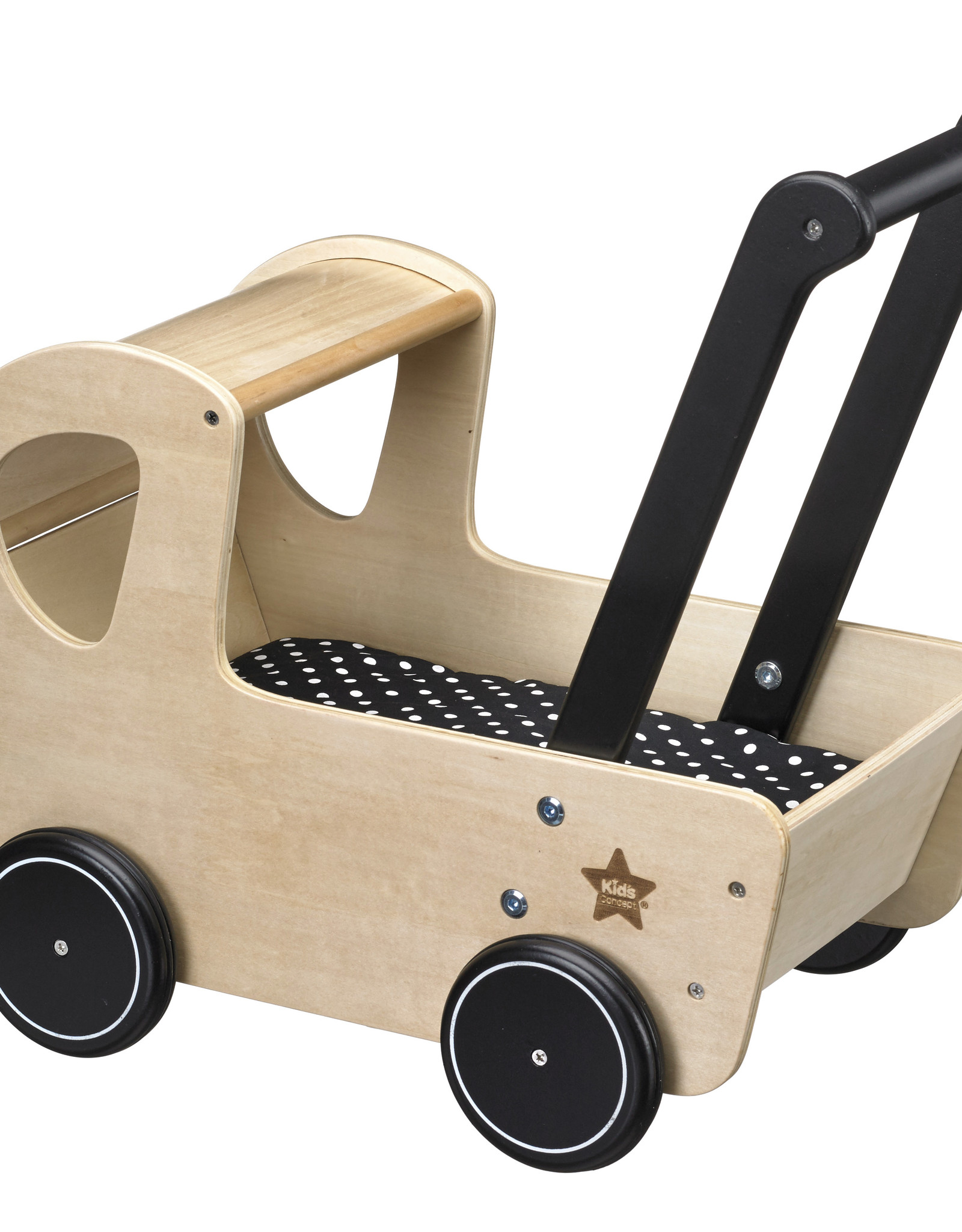 Kid's Concept POPPENWAGEN HOUT NEO NATURAL