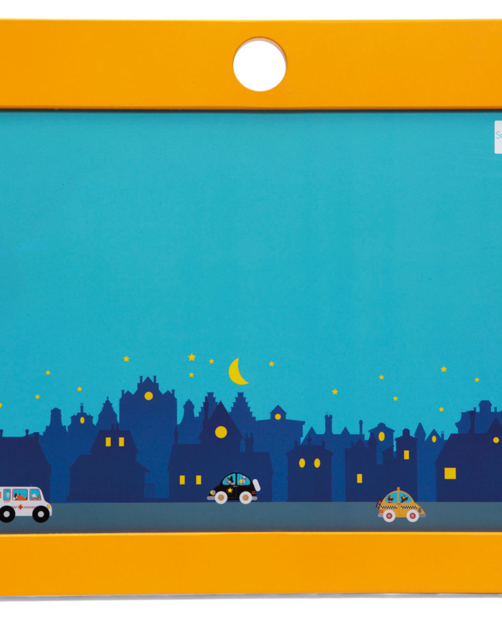 Scratch Europe KRIJTBORD/MAGNEETBORD - CITY