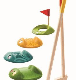 Plan Toys MINI GOLF - DUBBELE SET