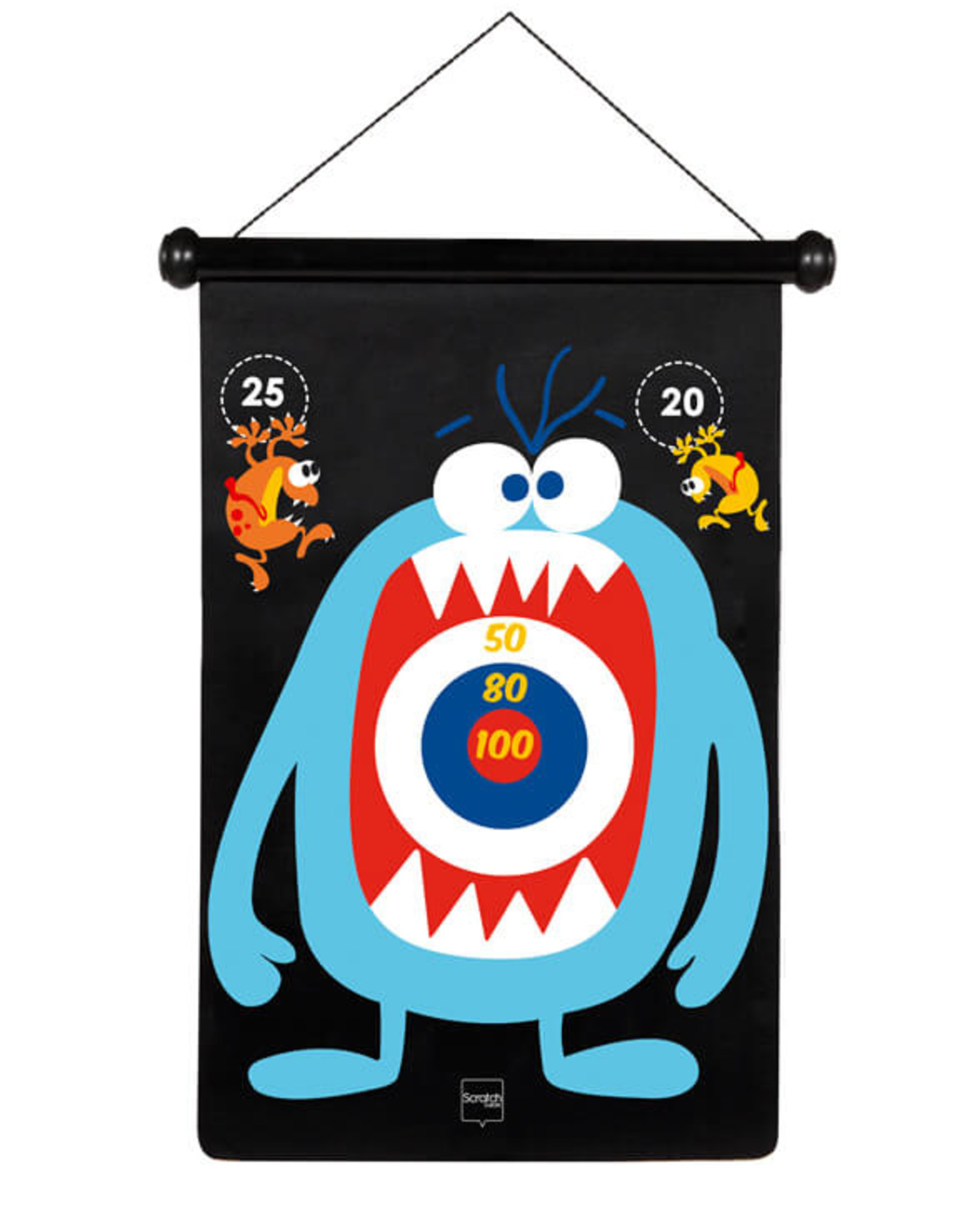 Scratch Europe DARTS MAGNETISCH - MONSTER
