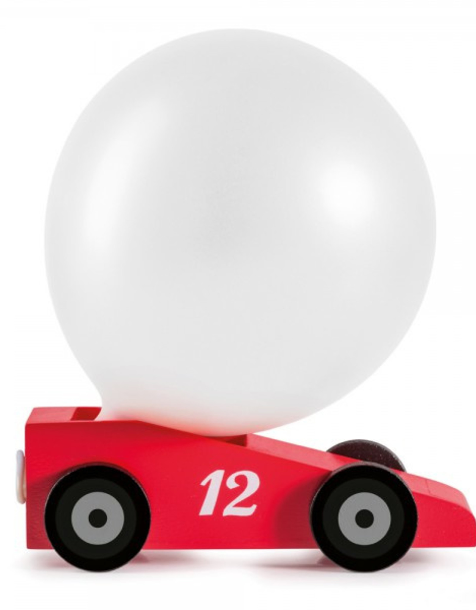 Donkey Products BALLOON RACER - ROADSTER CAR - RED