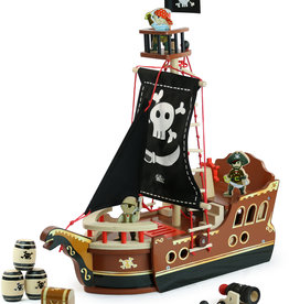 Vilac HOUTEN PIRATENBOOT