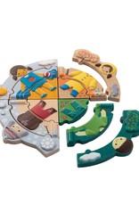 Plan Toys AANKLEED PUZZEL - WEER