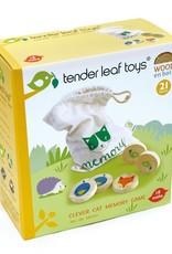 Tender Leaf MEMORY - SLIMME KAT