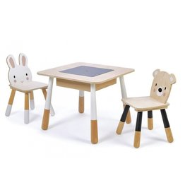 Tender Leaf SET TAFEL EN STOELEN