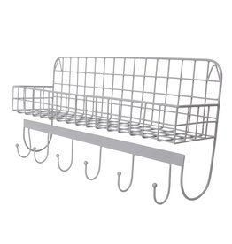 Kidsdepot WIRE - WALLSHELF - GREY