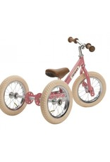 Trybike LOOPFIETS- 2-in-1- STEEL - VINTAGE PINK