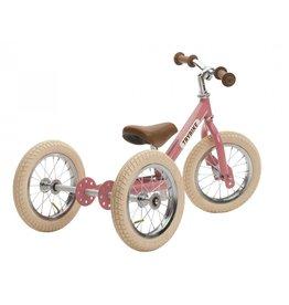 Trybike LOOPFIETS - 2-in-1 - STEEL - VINTAGE PINK