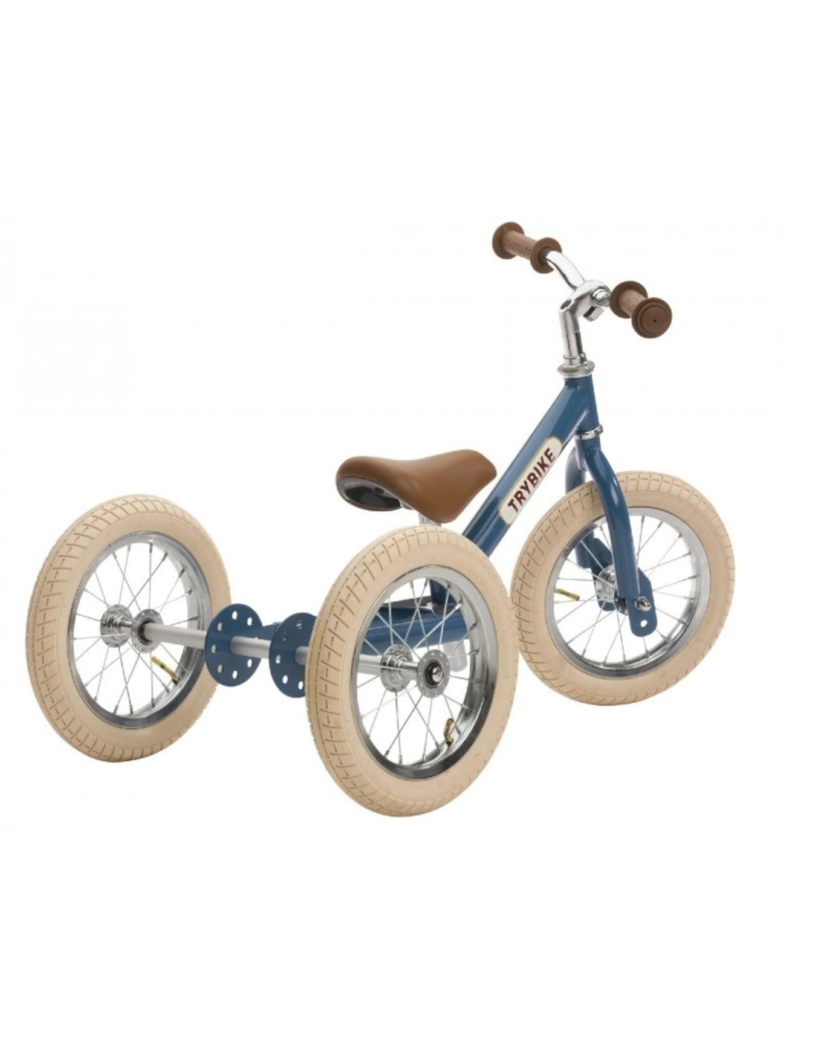Trybike LOOPFIETS- 2-in-1- STEEL - VINTAGE BLUE
