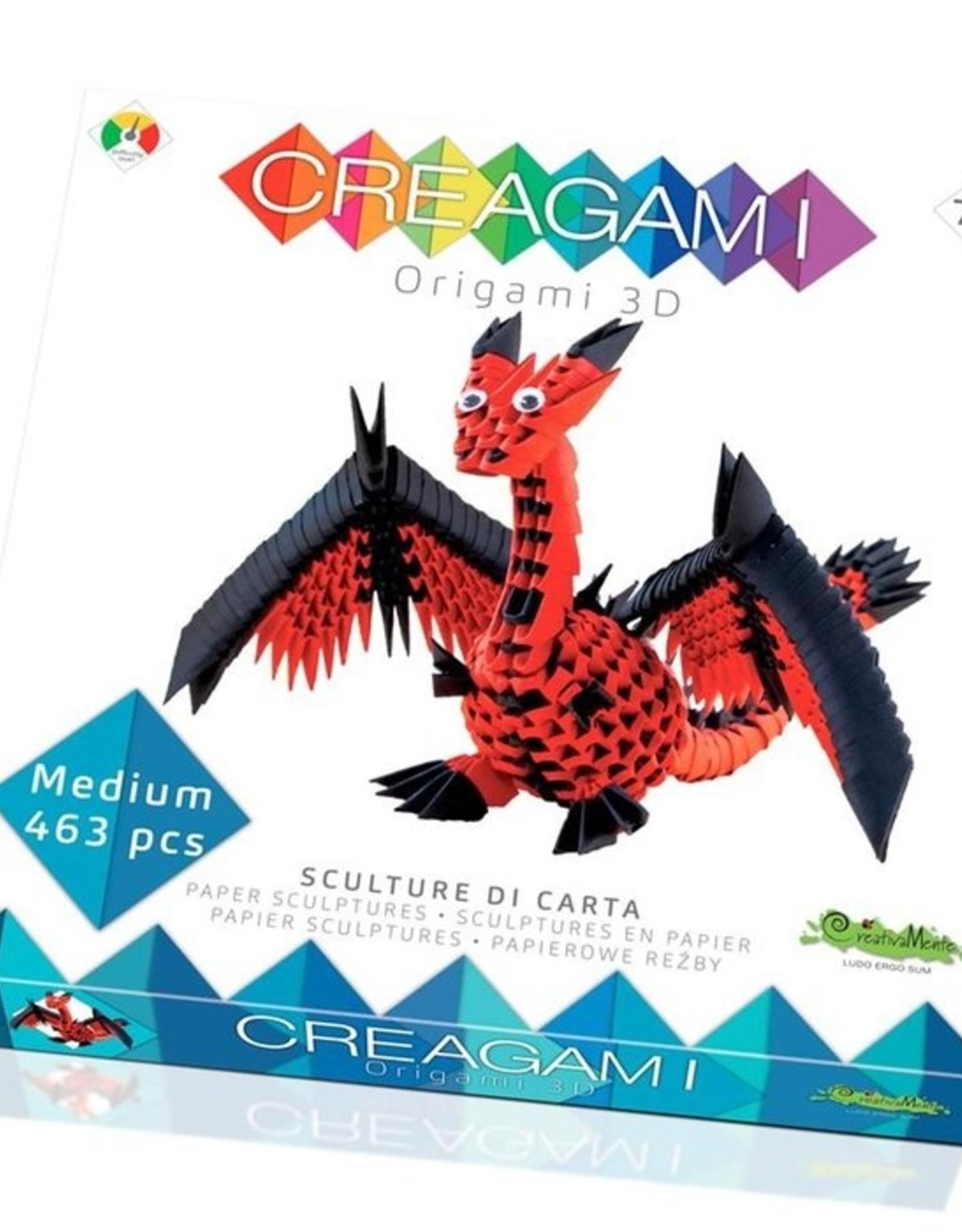 Creagami DRAAK 3D - MEDIUM