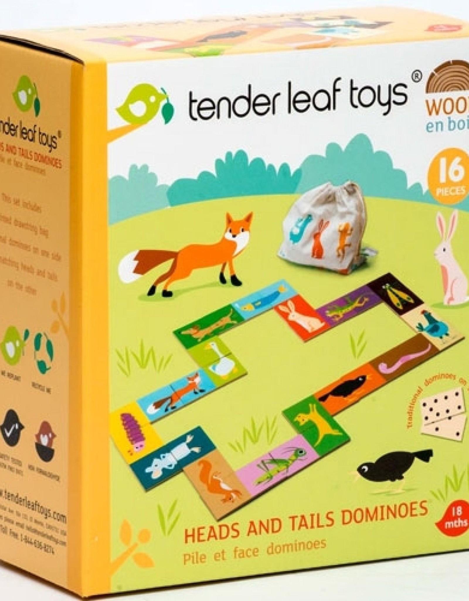 Tender Leaf DOMINO - KOP EN STAART