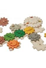 Plan Toys TANDWIELEN EN PUZZELS
