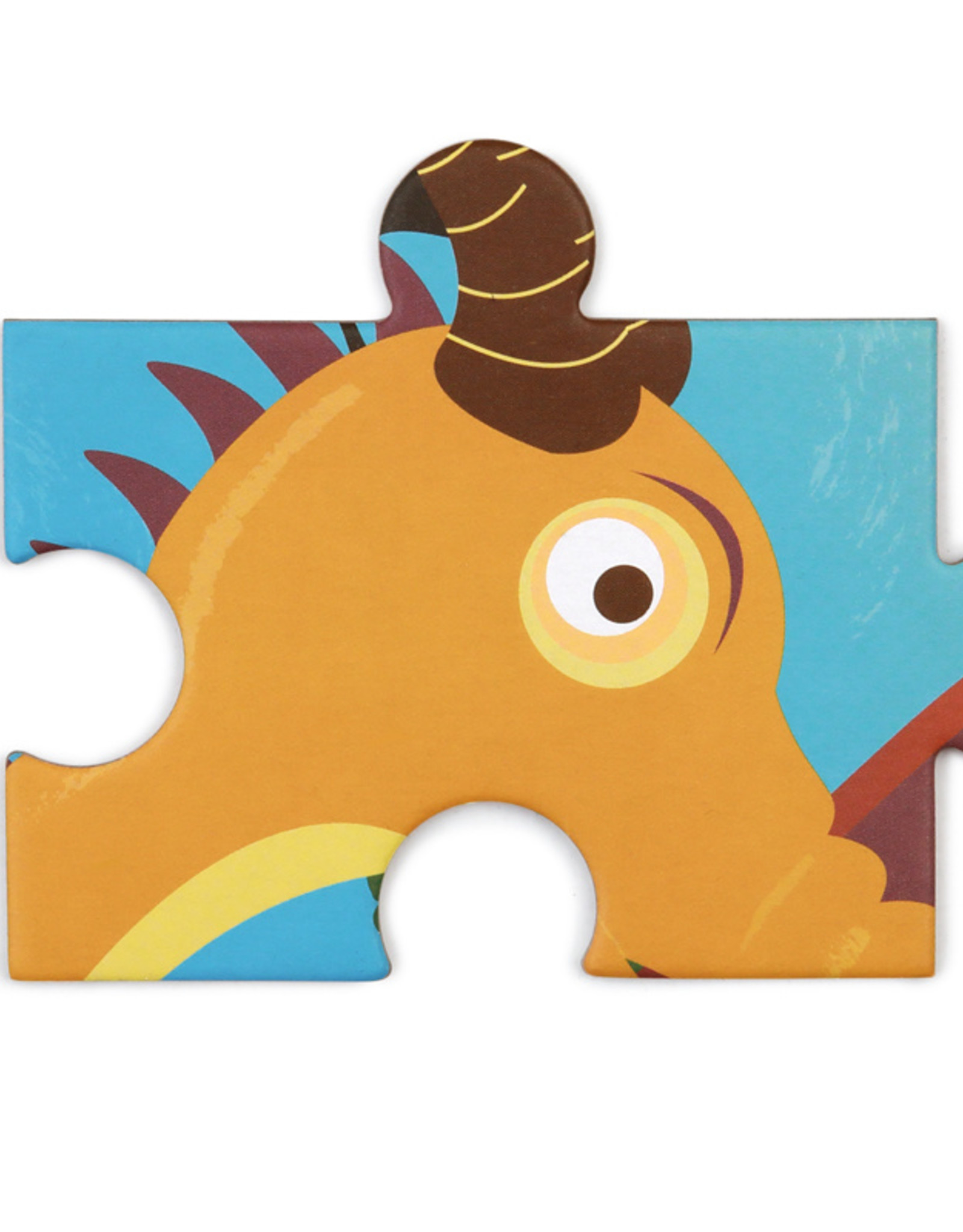 Scratch Europe CONTOUR PUZZEL - DRAAK - 61ST