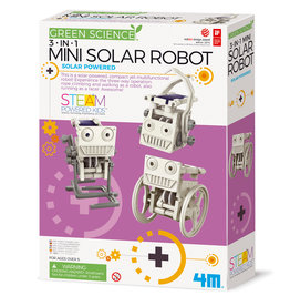 4M KIDZLABS GREEN SCIENCE - ECO 3-in-1 SOLAR ROBOT MINI