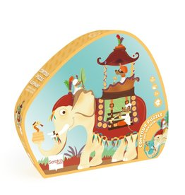 Scratch Europe CONTOUR PUZZEL - OLIFANT - 37ST