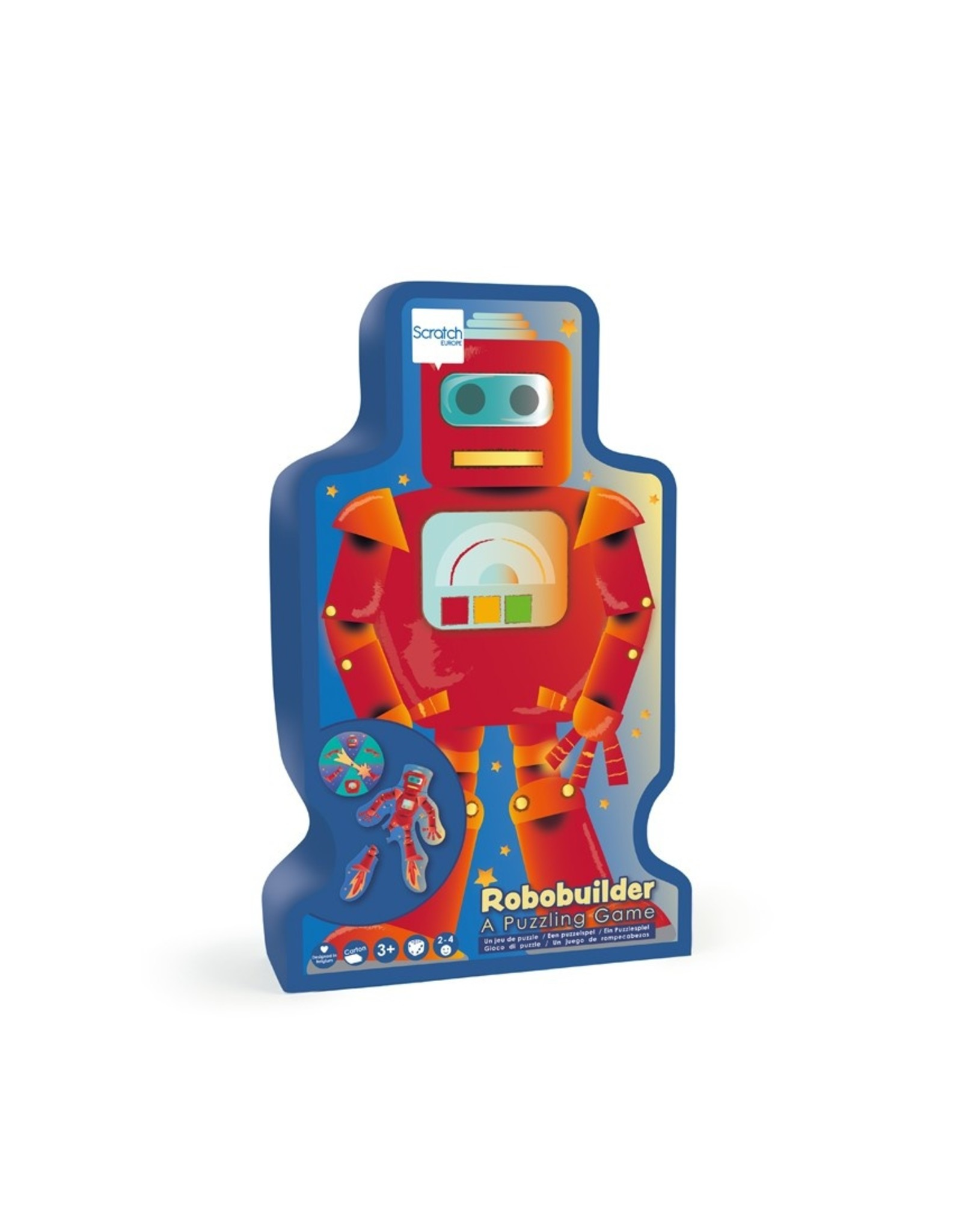 Scratch Europe PUZZELSPEL - ROBOTBUILDER