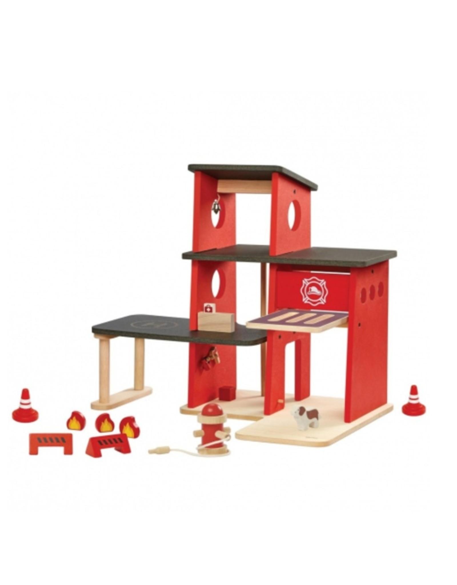 Plan Toys BRANDWEERKAZERNE