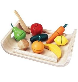 Plan Toys FRUIT EN GROENTEN SET