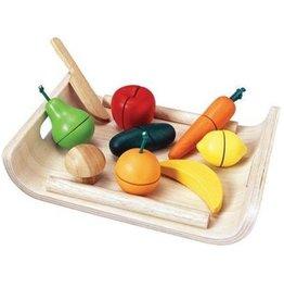 Plan Toys FRUIT EN GROENTEN SET