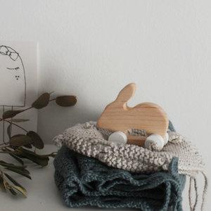Pinch Toys Pinch Toys | Handgemaakt houten speelgoed Konijn