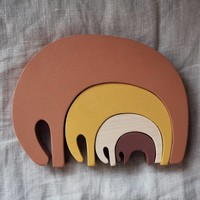 Pinch Toys | Olifanten puzzel 'Earth'