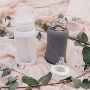 Eco Viking Glazen babyfles | 240 ml