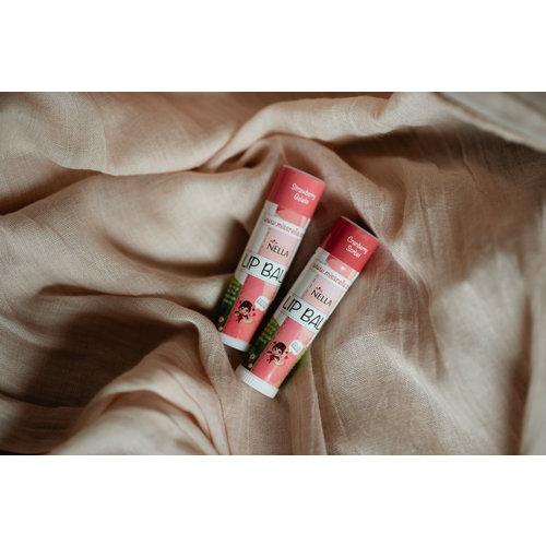 Miss Nella Miss Nella | Lippenbalsem 'Cranberry Sorbet' donkerroze