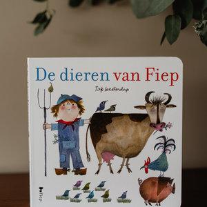 Boeken De Dieren van Fiep kartonboekje