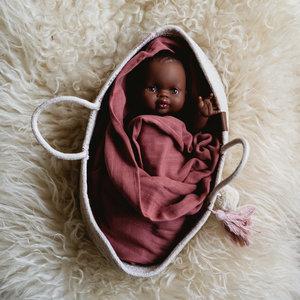 Paola Reina Babypop Meisje met ondergoed - Donker