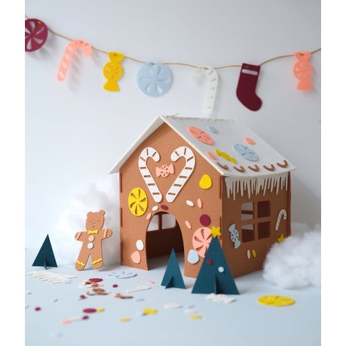 Fabelab Fabelab | DIY kerst kit: Gingerbread House