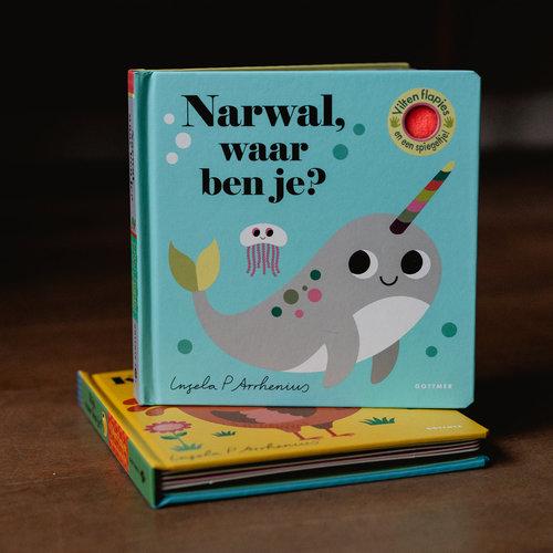 Boeken Narwal, waar ben je? Flapjesboek