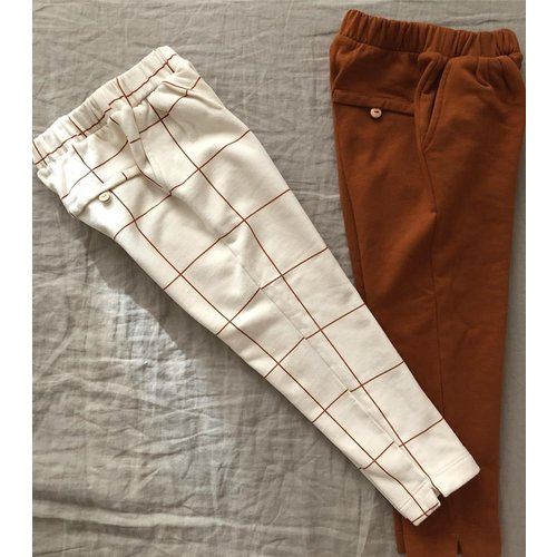 Say Please Chino broek caramel bruin