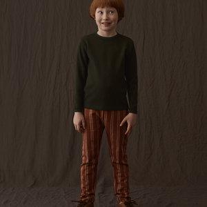 Mainio Mainio | Wafel shirt longsleeve 'Green'