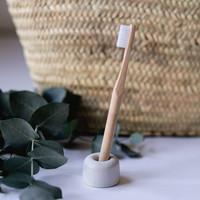 Keramiek houder voor tandenborstel