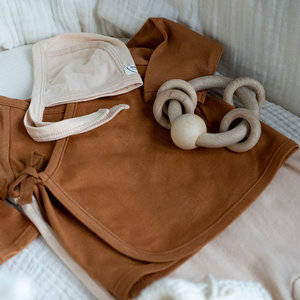 Bonjour Little Bonjour Little | Kimono cardigan Nut