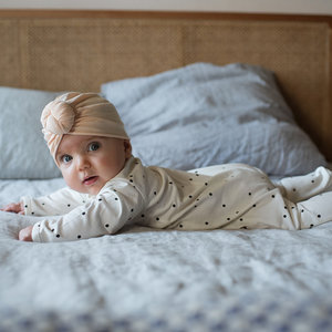 Bonjour Little Bonjour Little | Turban Beanie | Perfect Nude