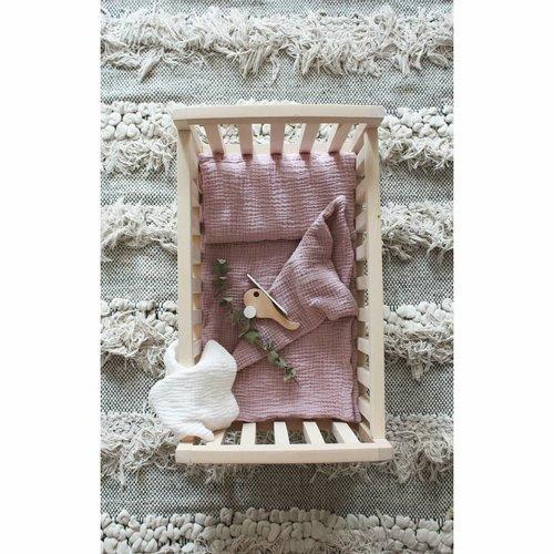 Pinch Toys Pinch Toys + Catsandboys | Poppen beddengoed | Powder Pink
