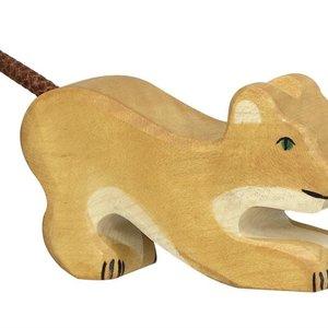 Holztiger Holztiger | Leeuw, welp spelend