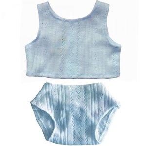Paola Reina Blauw ondergoed voor Paola Reina pop Gordi