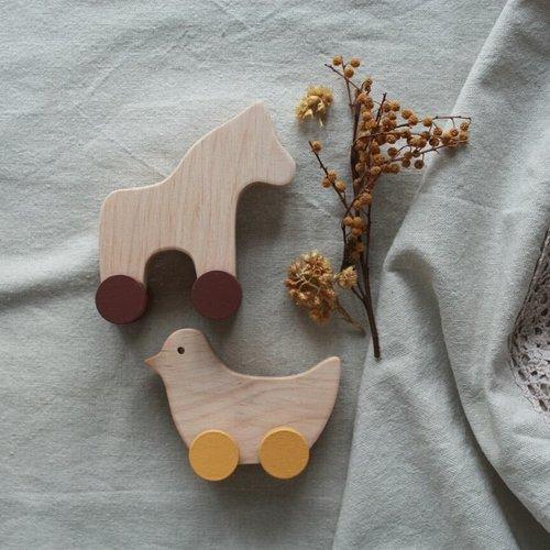 Pinch Toys Pinch Toys   Handgemaakt houten speelgoed Vogel