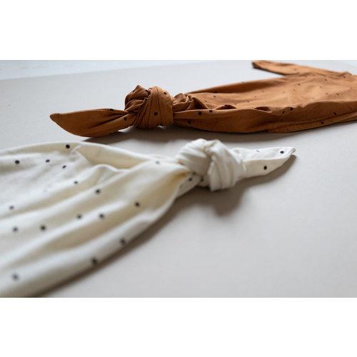 Bonjour Little Bonjour Little | Kimono sleepingbag Dots Nut