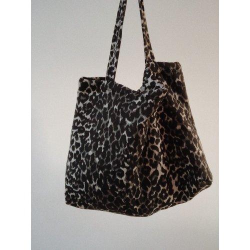 Studio Noos Studio Noos | Brown jaguar mom-bag