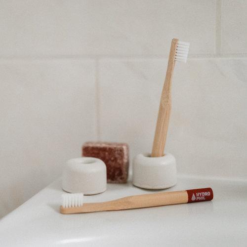 Hydrophil Hydrophil | Bamboe tandenborstel kids roodbruin
