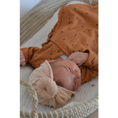 Bonjour Little Bonjour Little | Baby Turban Beanie | Perfect Nude