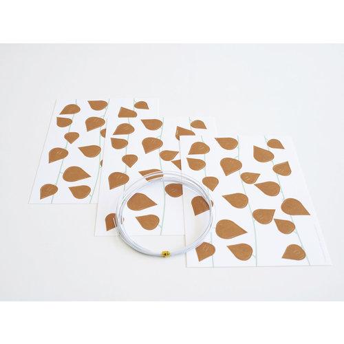 Jurianne Matter Jurianne Matter | Twig Leaves Ochre